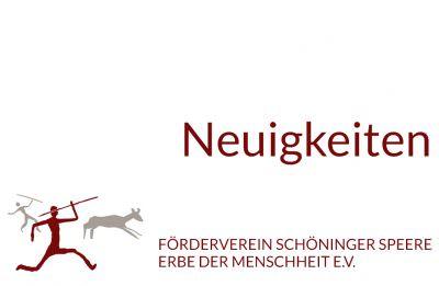 Neuigkeiten Förderverein Schöninger Speere